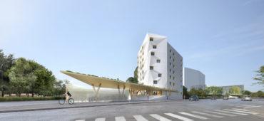 99 logements en ossature bois, Paris XIV – Conception / Réalisation neuve
