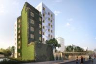 Conception réalisation de 99 logements en ossature bois R+7, Paris XIV