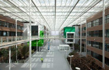 Campus de bureaux à Clérmont-Ferrand – Construction neuve